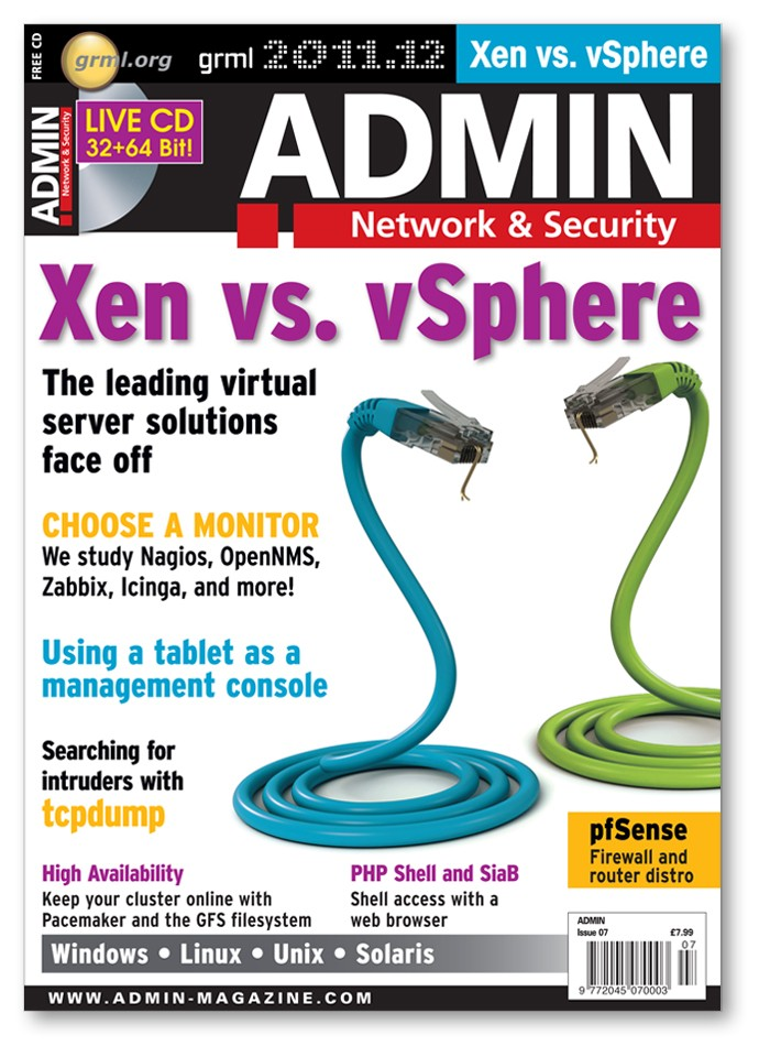 Admin Magazine - Back Issue #07