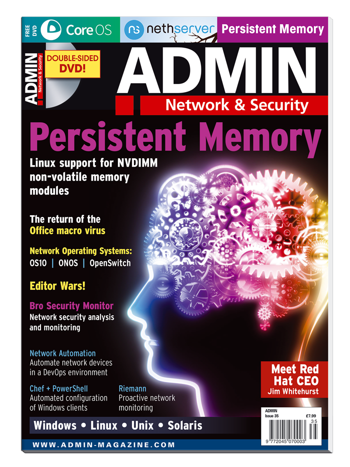 ADMIN Magazine #35 - Print Issue