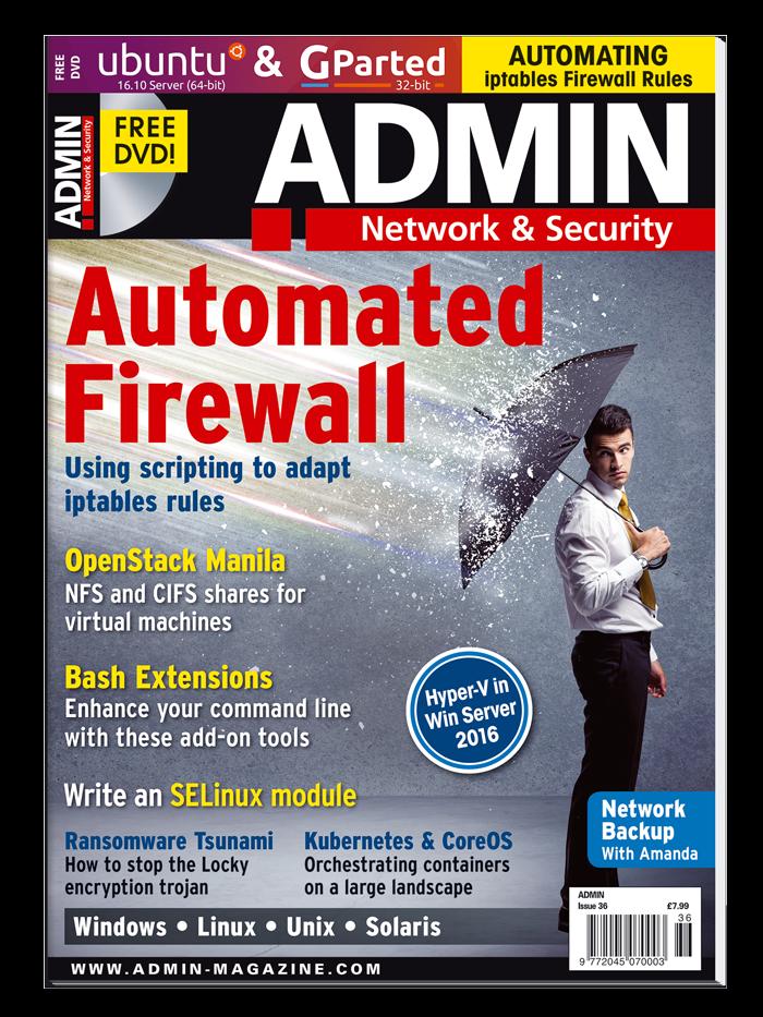 ADMIN Magazine #36 - Print Issue