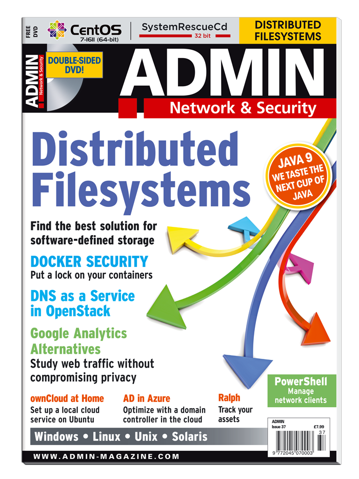 ADMIN Magazine #37 - Print Issue