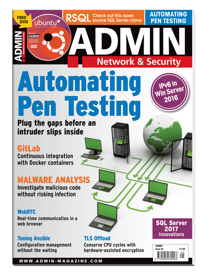 ADMIN Magazine #45 - Print Issue