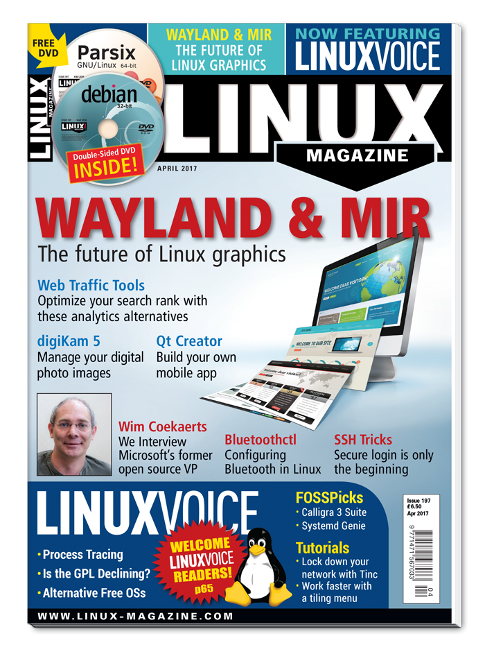 Linux Magazine #197 - Print Issue