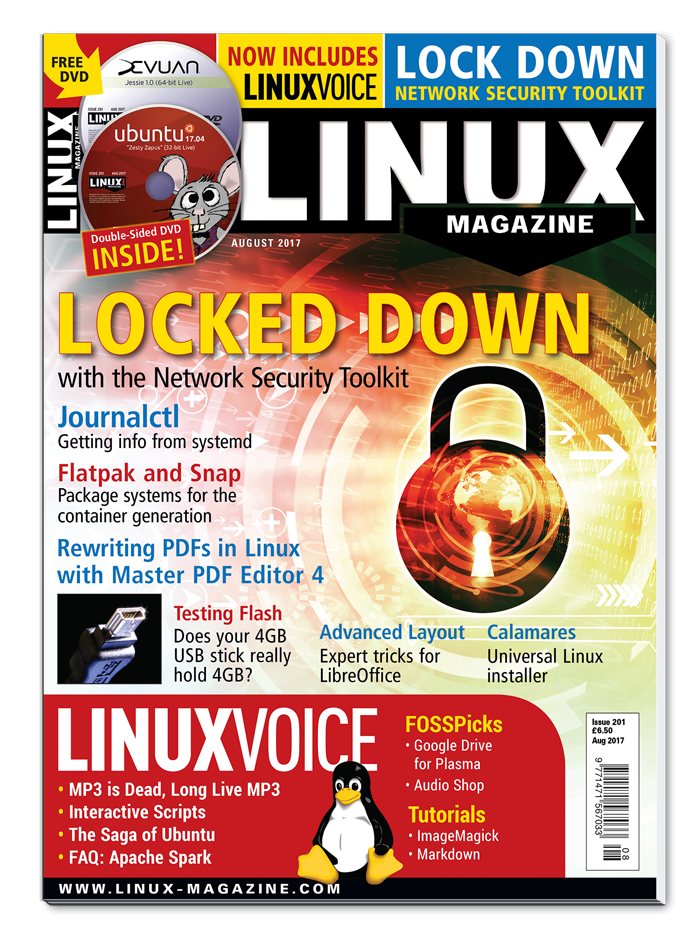 Linux Magazine #201 - Print Issue