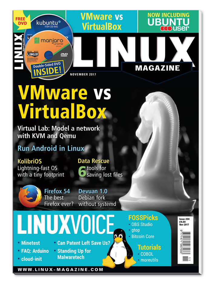 Linux Magazine #204 - Print Issue