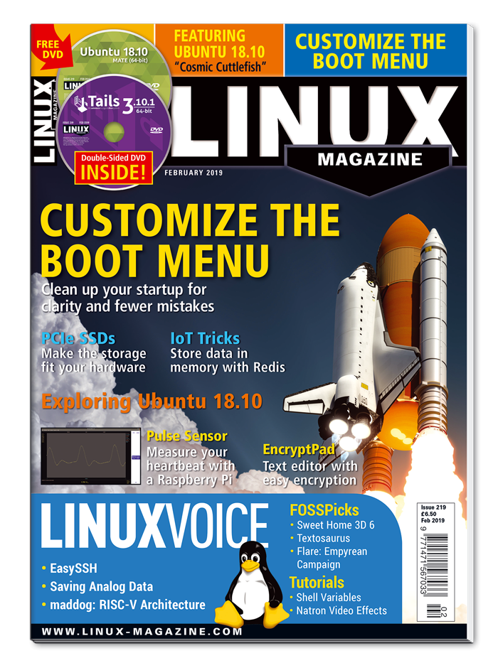 Linux Magazine #219 - Print Issue