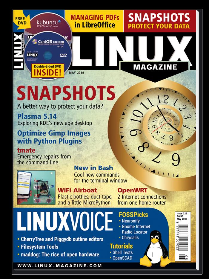 Linux Magazine #222 - Print Issue