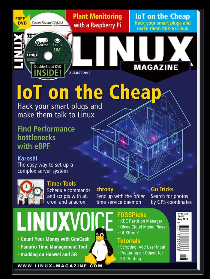 Linux Magazine #225 - Print Issue