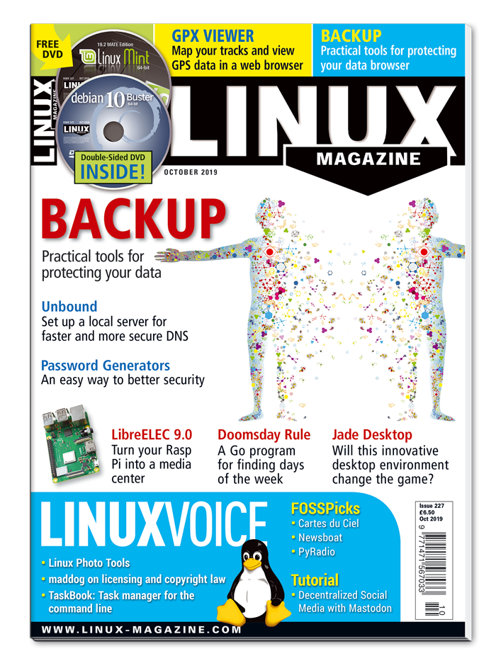 Linux Magazine #227 - Print Issue