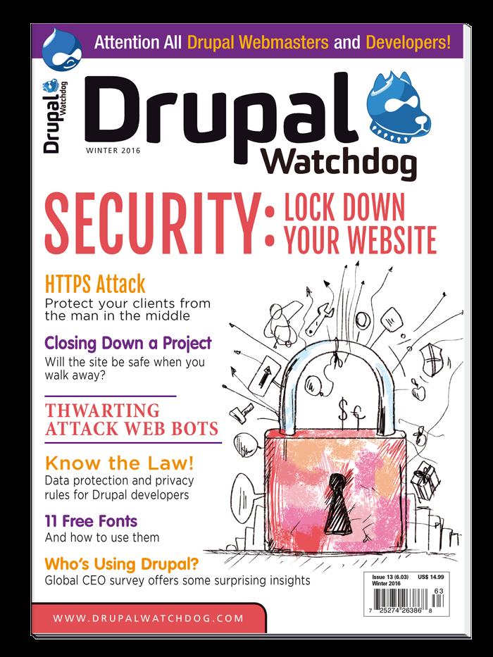 Drupal Watchdog - 4-Issue Print Subscription