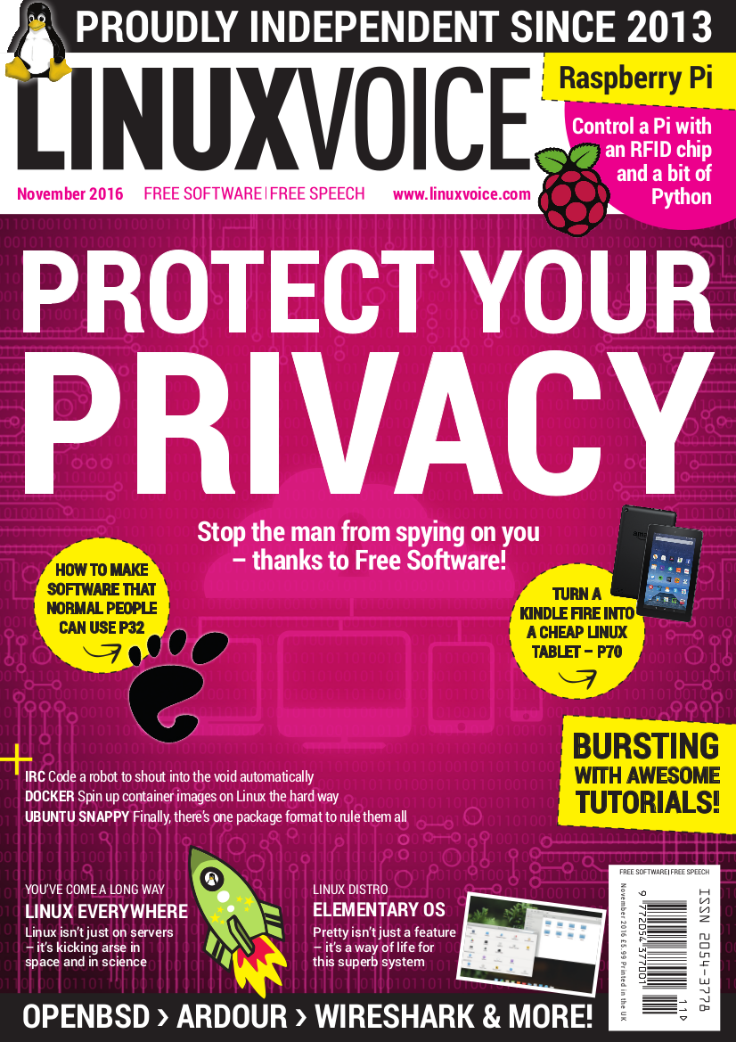 Linux Voice #32 - Print Issue