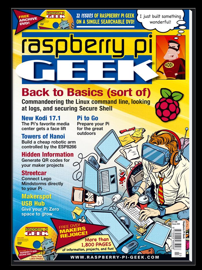 Raspbery Pi Geek #23 - Print Issue