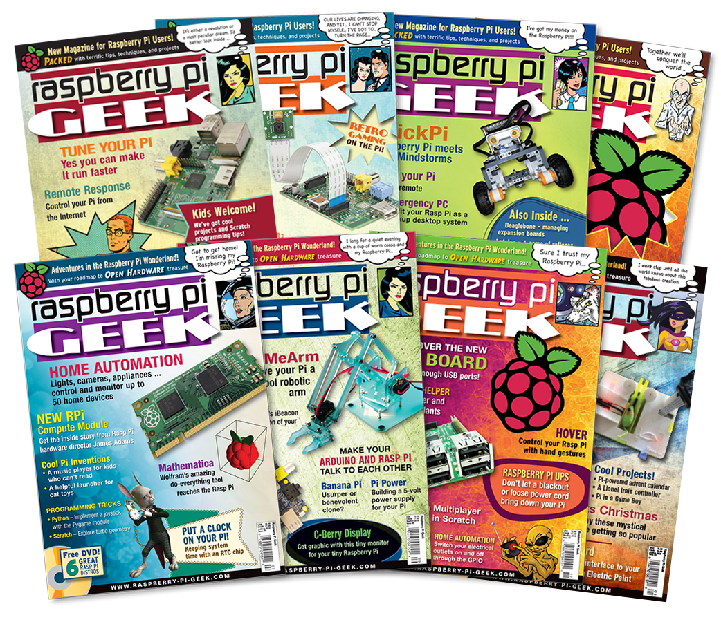 Raspberry Pi Geek 2014 - Digital Issue Archive