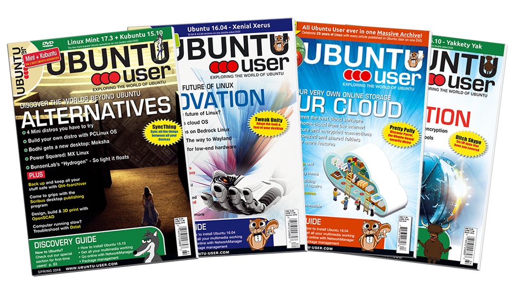 Ubuntu User 2016 - Digital Issue Archive