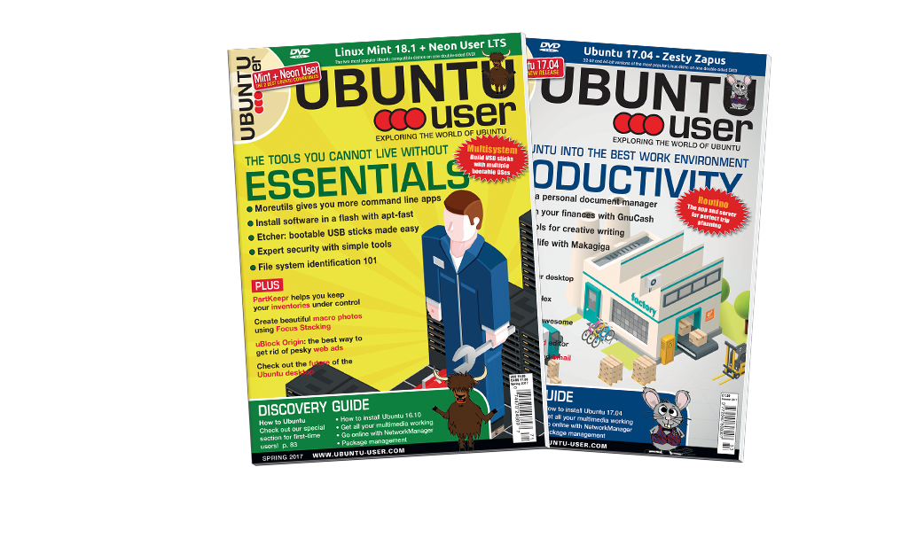 Ubuntu User 2017 - Digital Issue Archive