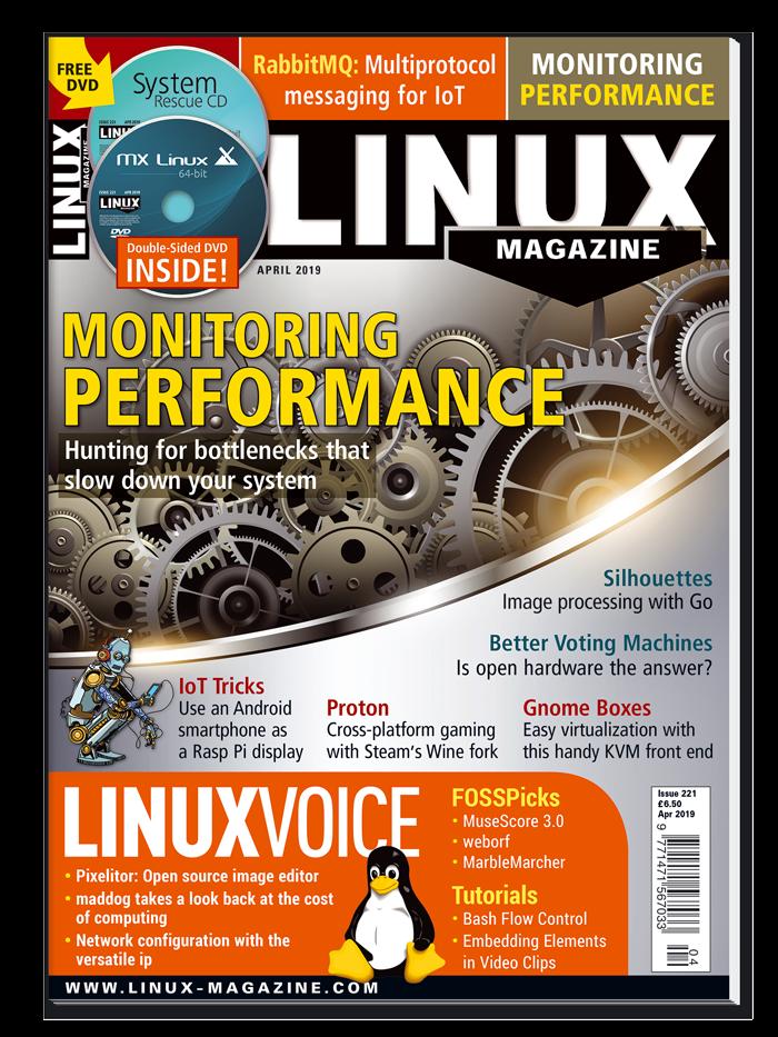 Linux Magazine #221 - Print Issue