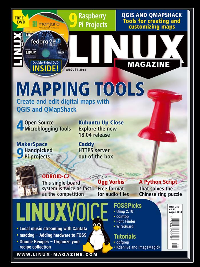 Linux Magazine #213 - Digital Issue