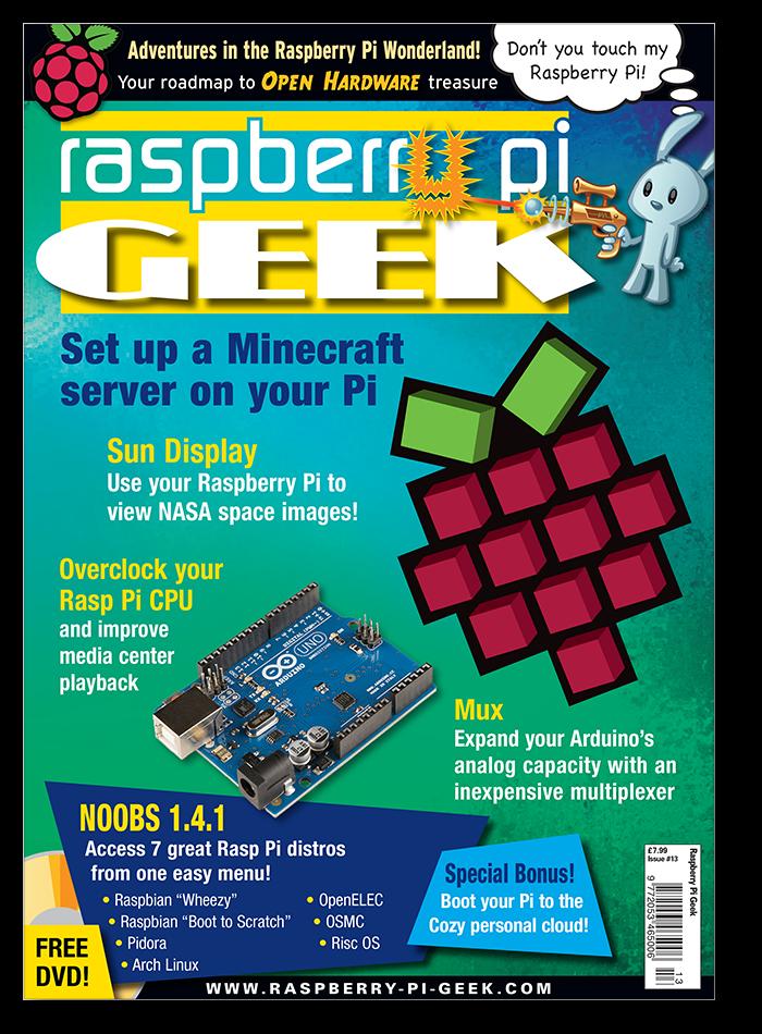 Raspberry Pi Geek #13 - Digital Issue
