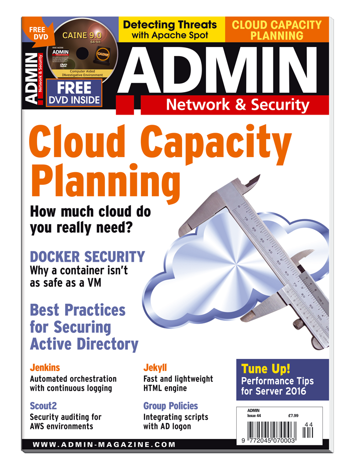 ADMIN Magazine #44 - Print Issue