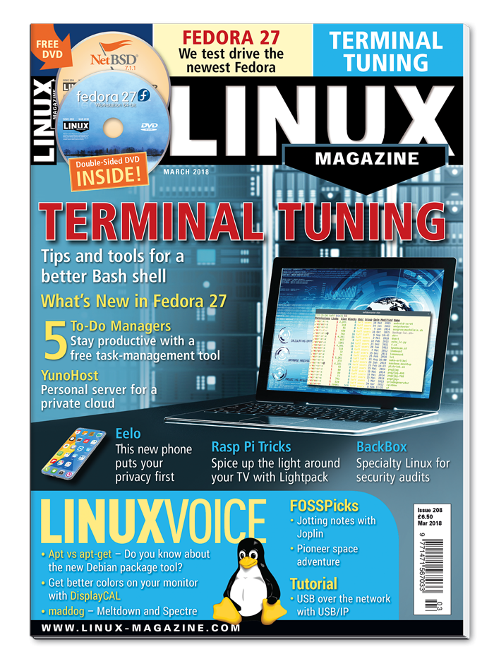 Linux Magazine #208 - Print Issue