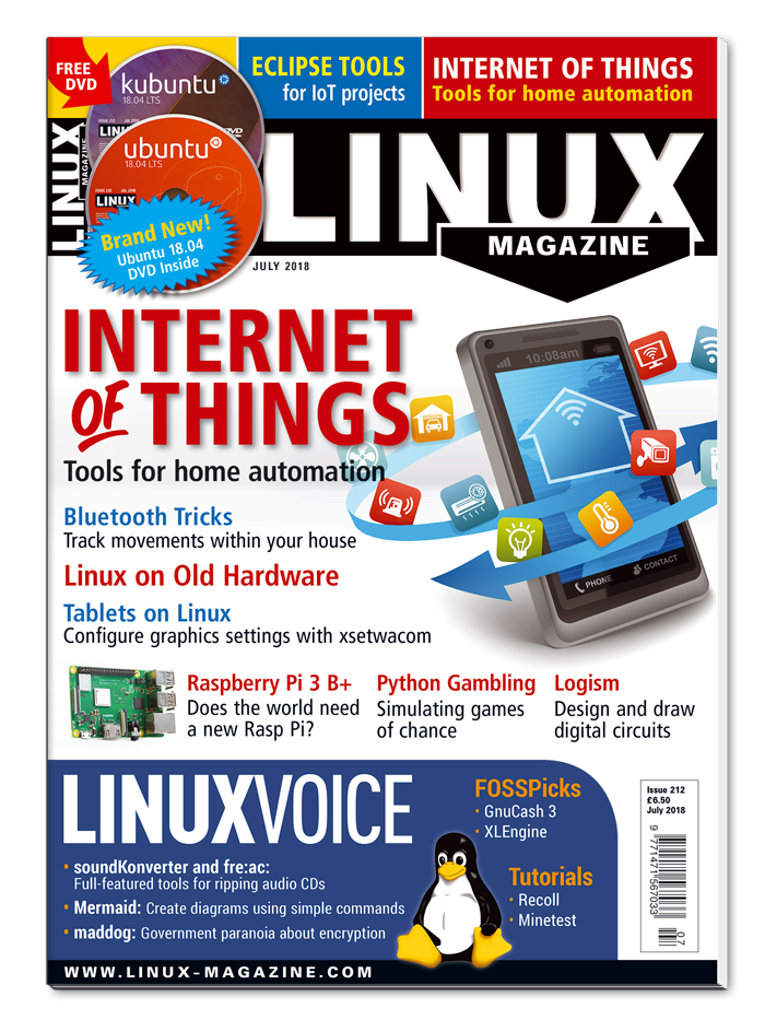 Linux Magazine #212 - Print Issue
