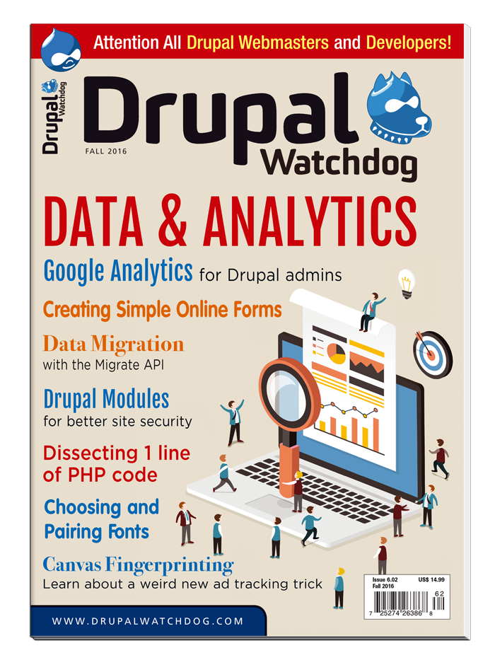 Drupal Watchdog (Subs add-on) - 4-Issue Digital Subs Add-on to Print