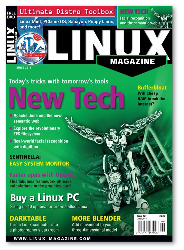Linux Magazine - Back Issue #127