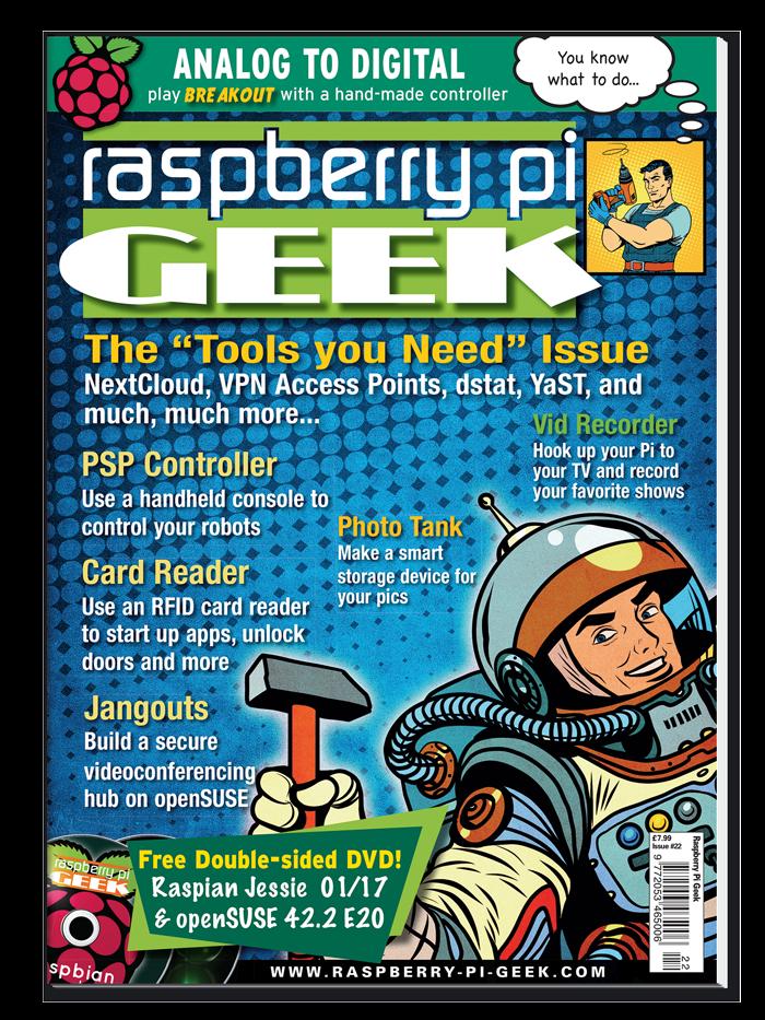 Raspberry Pi Geek #22 - Print Issue
