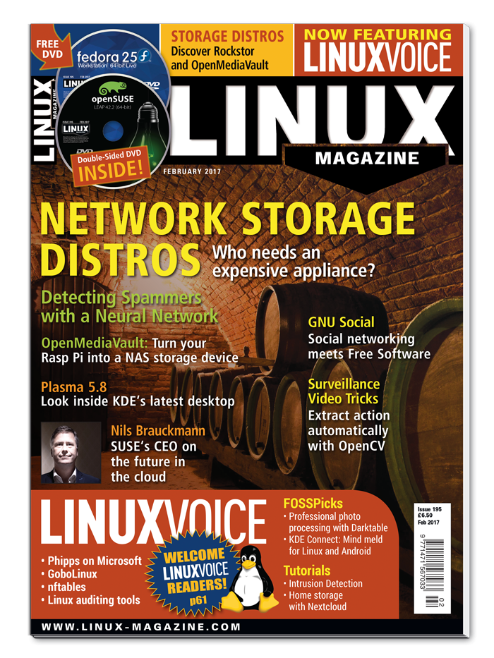 Linux Magazine #195 - Digital Issue