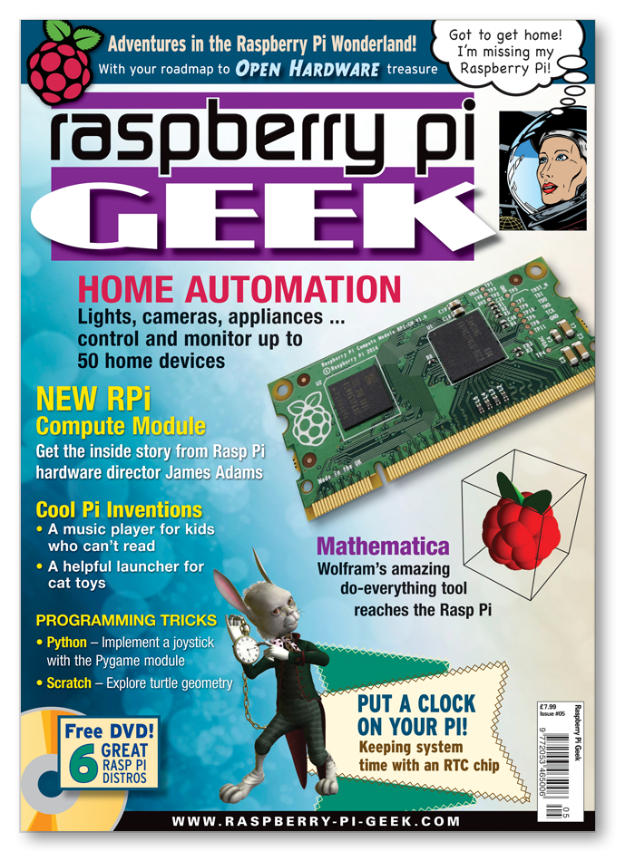 Raspberry Pi Geek #05 - Digital Issue