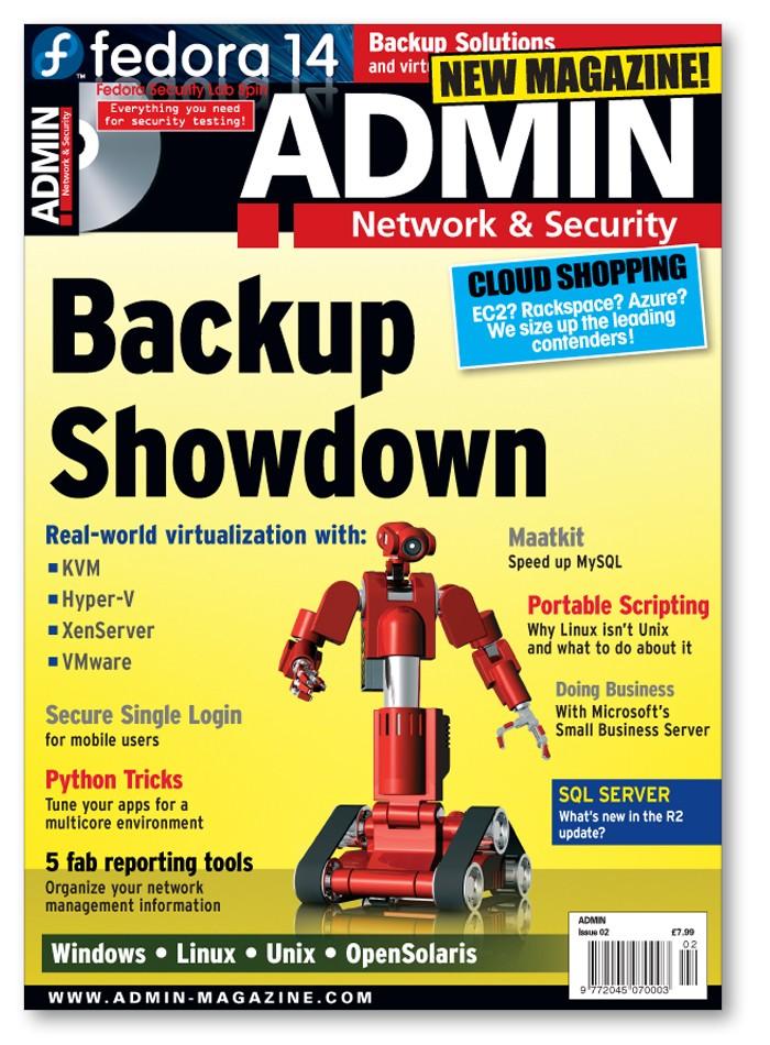 ADMIN Magazine - Back Issue #02