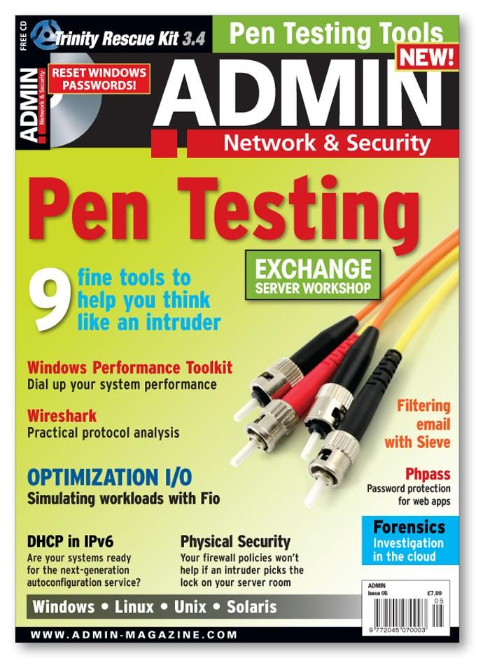 ADMIN Magazine - Back Issue #05