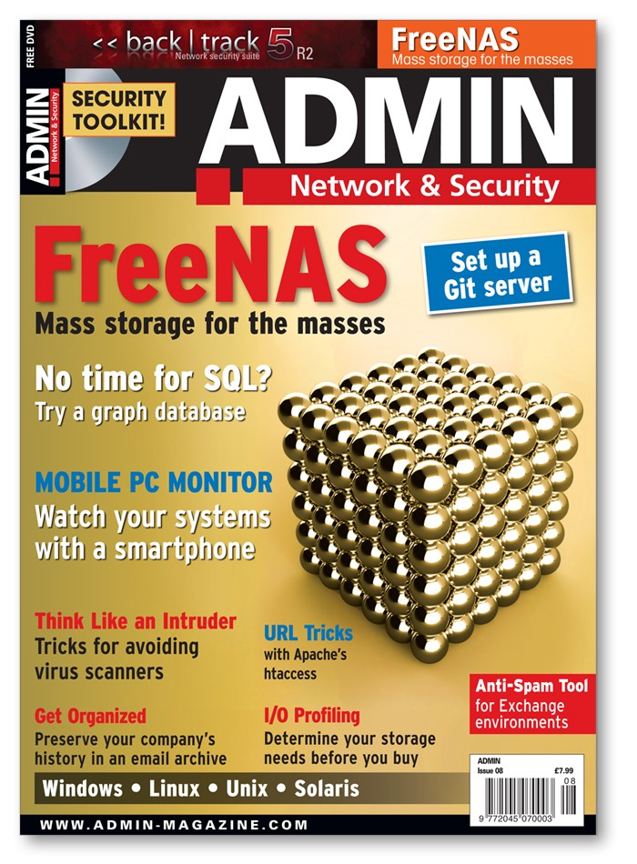 ADMIN Magazine - Back Issue #08
