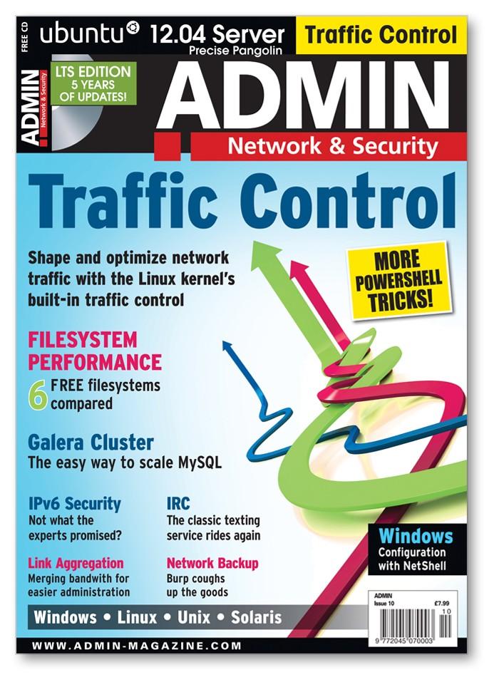 ADMIN Magazine - Back Issue #10