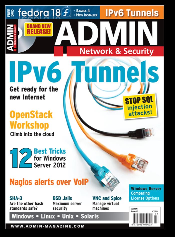 ADMIN Magazine - Back Issue #13