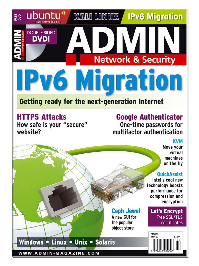 ADMIN Magazine #33 - Print Issue