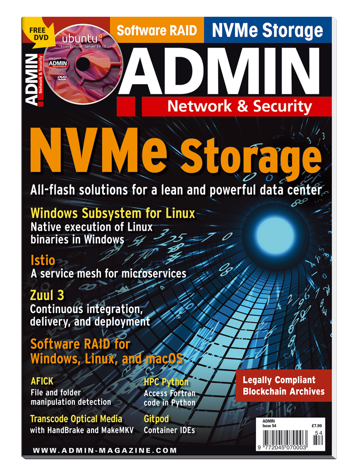 ADMIN magazine #54 - Print Issue