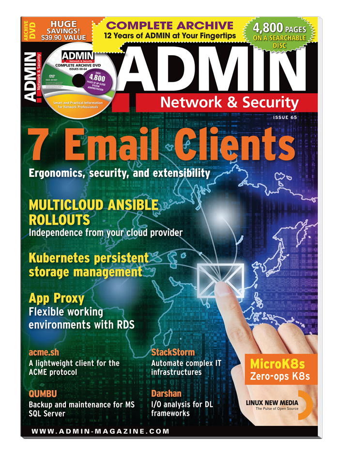 ADMIN Print Subscription (6 issues)