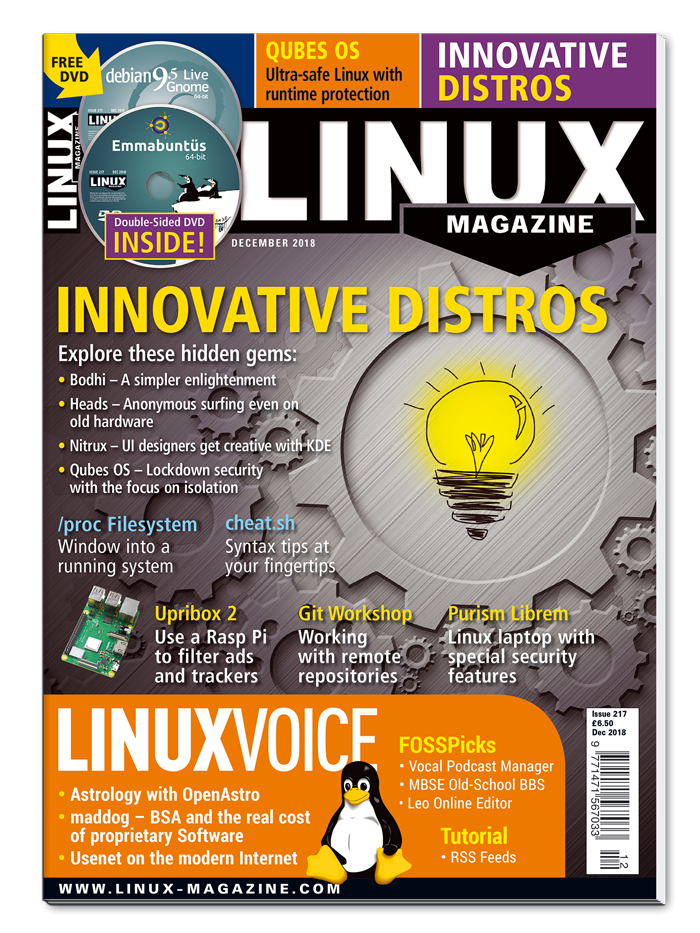 Linux Magazine #217 - Print Issue
