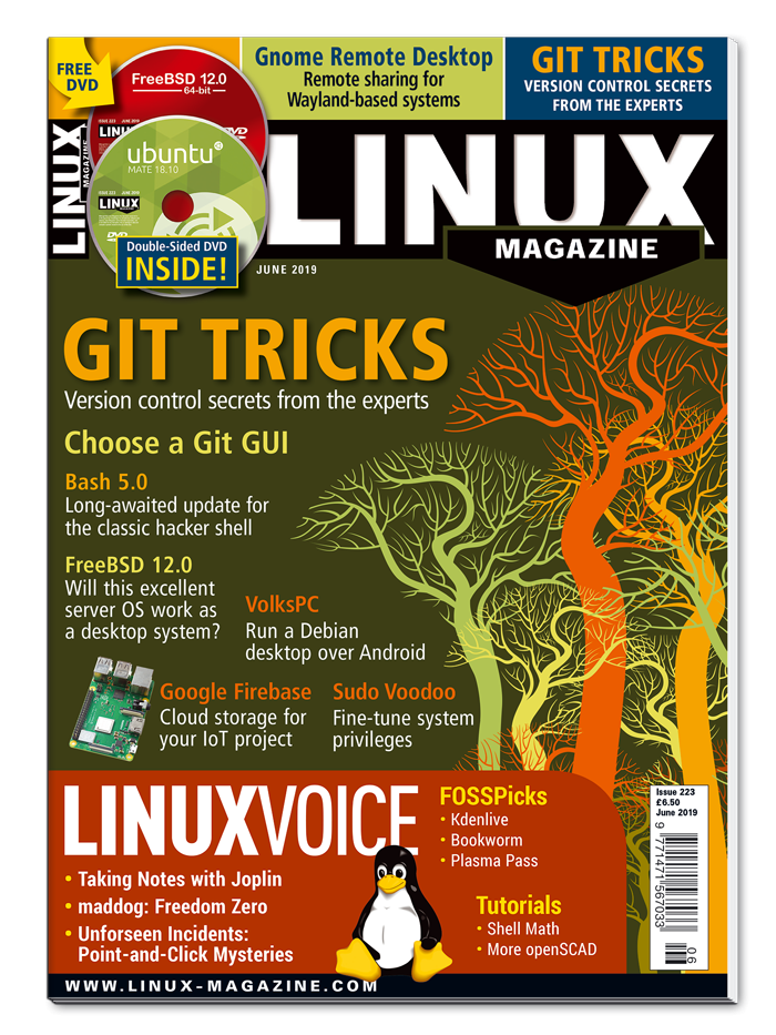 Linux Magazine #223 - Print Issue
