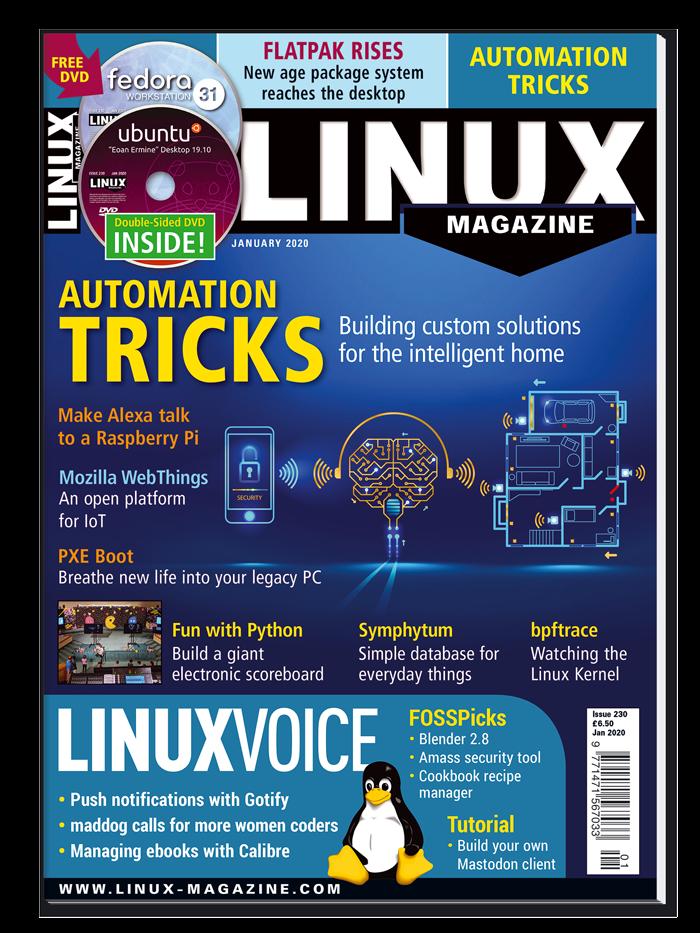 Linux Magazine #230 - Print Issue