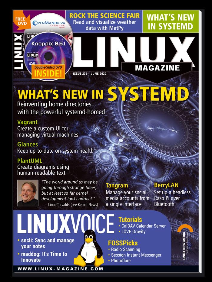 Linux Magazine #235 - Print Issue