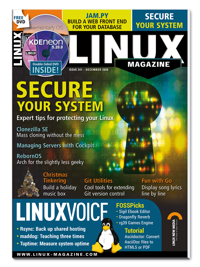 Linux Magazine #241 - Print Issue