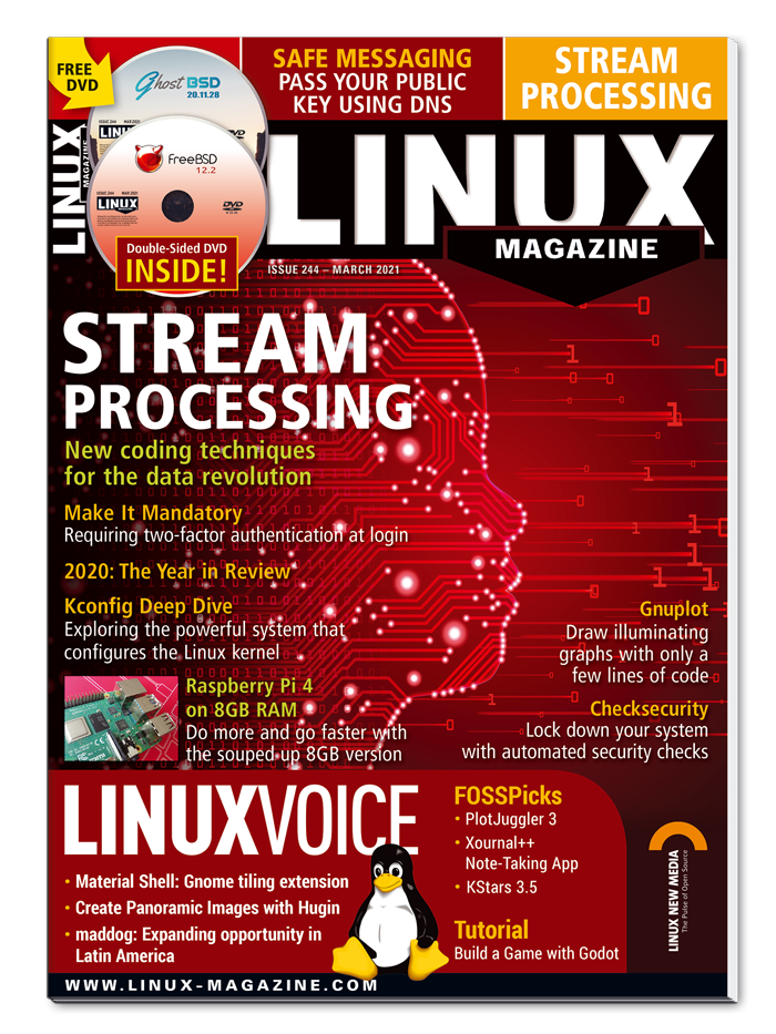 Linux Magazine #244 - Print Issue