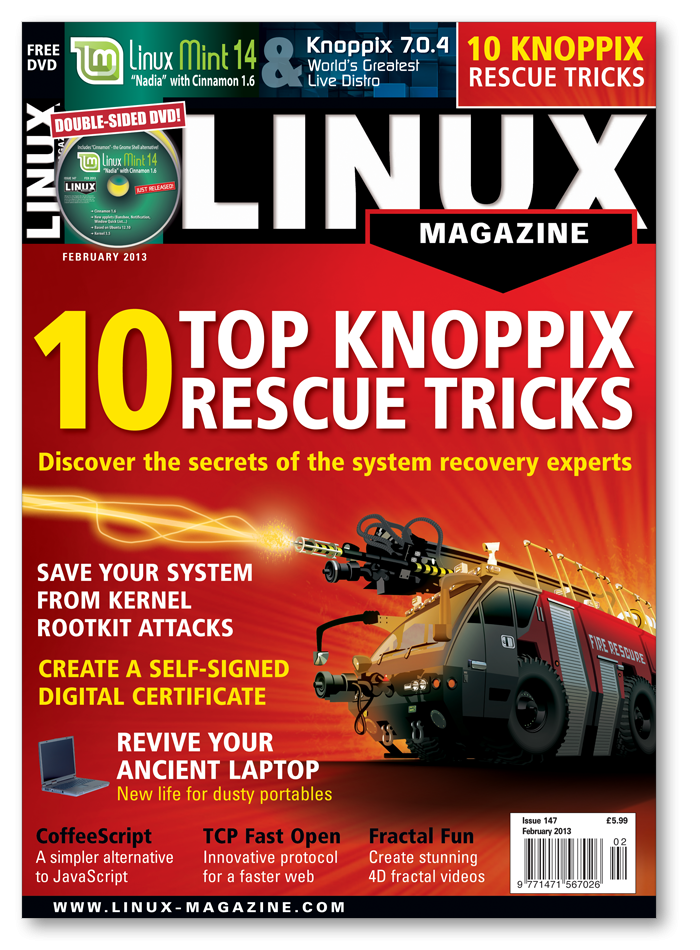 Linux Magazine 2013 - Digital Issue Archive
