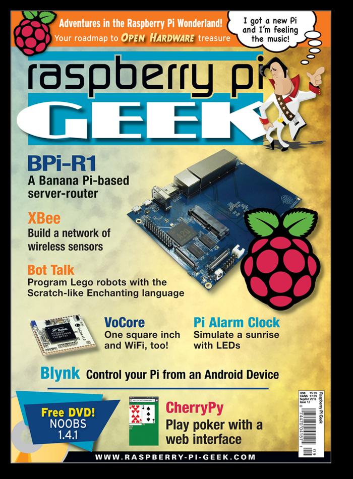 Raspberry Pi Geek #12 - Print Issue
