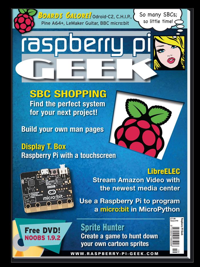 Raspberry Pi Geek #19 - Digital Issue