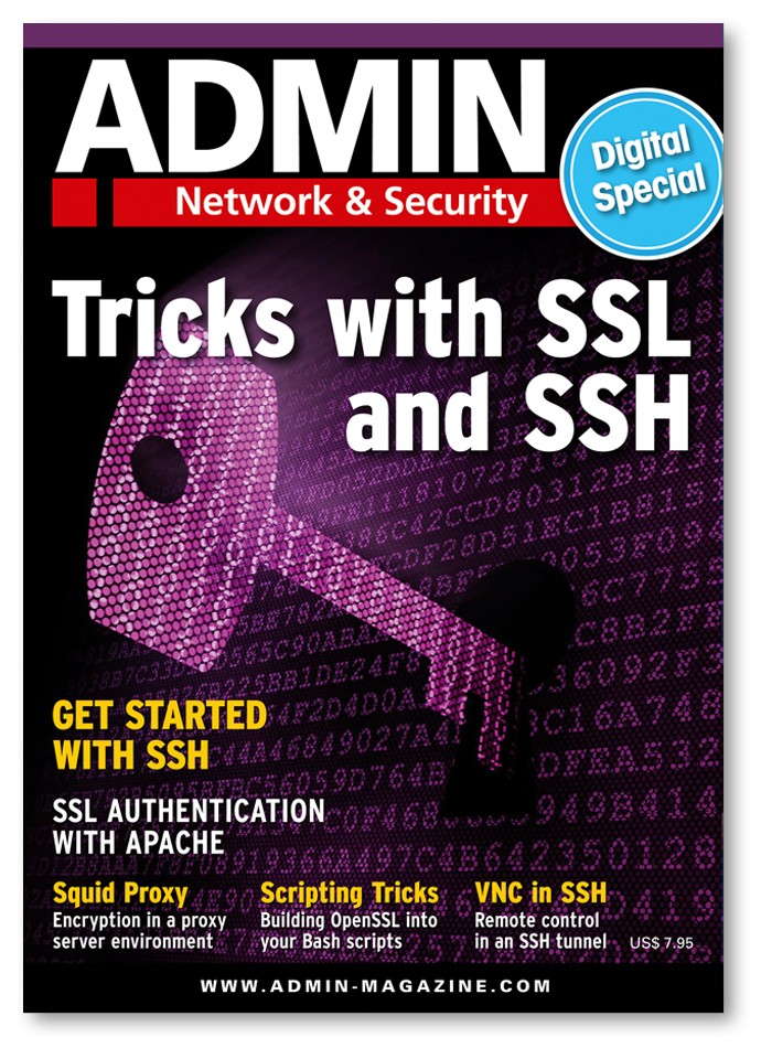 ADMIN Digital Special - Tricks with SSL and SSH
