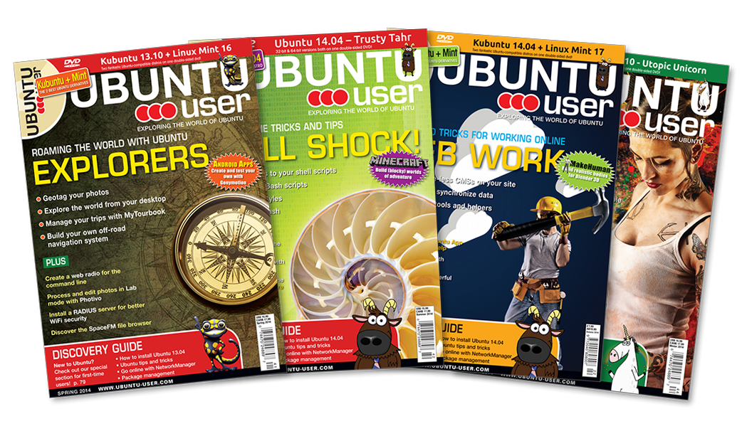 Ubuntu User 2014 - Digital Issue Archive
