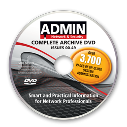 The Complete ADMIN magazine - Archive DVD - Issues 0-49