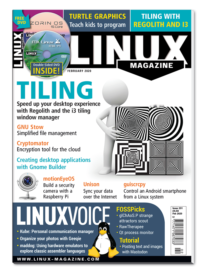 Linux Magazine #231 - Print Issue